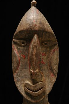 "Female ""nogwi"" figure from the Kwoma culture area of the Washkuk Hills north of the Middle Sepik River"