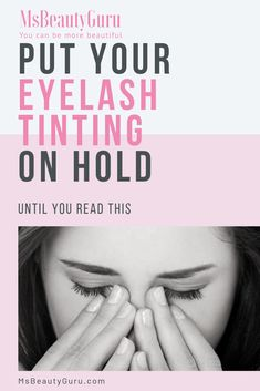 Eyes is the soul to your body, and eyelash tinting uses dye. So this is very risky and you must learn how to prevent and protect from these side effects. Read this guide before you do your eyelash tinting procedure. Eyebrow Tinting Diy, Eyelash Tinting, Eyelash Serum, Eyelash Growth, Longer Eyelashes, False Eyelashes, M&s Beauty, Eyelash Lift And Tint, Mascara Review