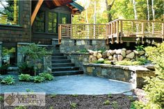 Whether you are a homeowner or a builder our team can turn any vision of custom masonry into reality. Some of our projects include custom stone homes, brick homes, stone fireplaces, and more! Masonry Work, Patio, Outdoor Decor, Home Decor, Decoration Home, Room Decor, Home Interior Design, Home Decoration, Terrace