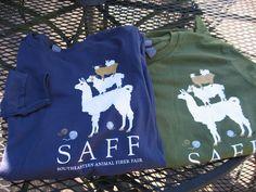 Long sleeve t-shirts, Southeastern Animal Fiber Fair
