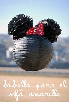 Minnie mouse piñata /minnie mouse pinata #party #minniemouse