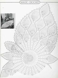 Album Archive - Magic Crochet Nº 28 Filet Crochet, Crochet Doily Diagram, Crochet Doily Patterns, Crochet Chart, Crochet Motif, Crochet Designs, Crochet Books, Crochet Home, Thread Crochet
