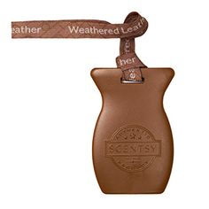 Weathered Leather Scentsy Car Bar $6.  Step into an old-fashioned saddle shop brimming with dark suede, tooled leather and vintage saddles over a backdrop of oak.