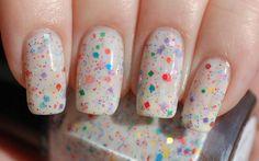 Nonpareils Glitter Nail Polish 15ml .5oz by ModLacquer on Etsy, $9.50