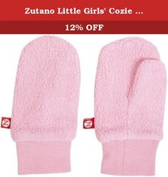 ZUTANO TODDLER  FUCHSIA GIRLS  COZIE FLEECE SNOW MITTENS pink ONE SIZE