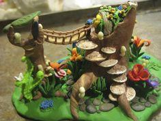 Clay Fairy House 12 by sing2mi.deviantart.com on @deviantART