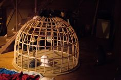 Dome model. Latvia, Jaunpiebalga. Dome Society.