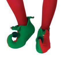 Adult Elf Shoe Pattern | Homemade Christmas Elf Costumes