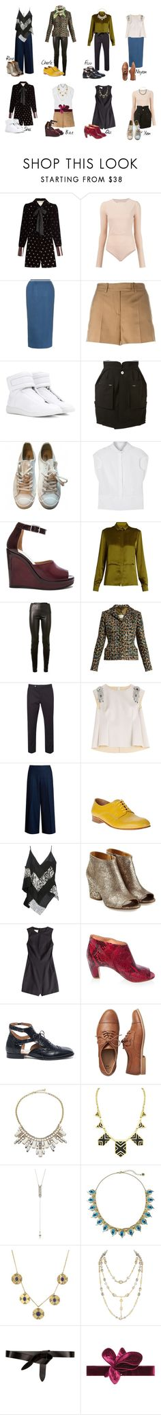 """T.R.E.N.D.Y"" by bileyuna ❤ liked on Polyvore featuring Maison Margiela, Gap, ABS by Allen Schwartz, House of Harlow 1960, Étoile Isabel Marant, Johanna Ortiz and Gucci"