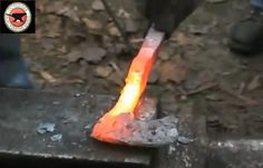 From a Railroad Spike to a Tomahawk...we live next to the tracks there are so many, this is pretty cool idea