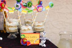 Mexican Fiesta / Cinco de Mayo themed party via Kara's Party Ideas Mexican Fiesta Birthday Party, Fiesta Theme Party, Birthday Party Tables, 50th Party, Mexican Party, Party Party, Zombie Party, Halloween Party, Day Of The Dead Party