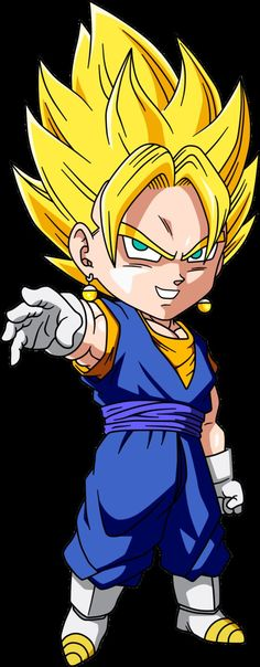 Sweet child Vegetto ! ;]