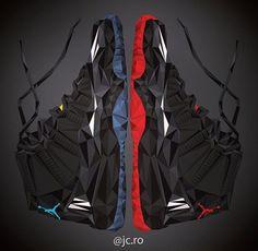 http://yrt.bigcartel.com Air Jordan XI Art
