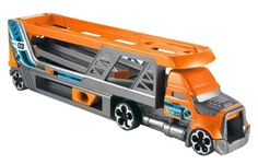 Quick and Easy Gift Ideas from the USA  Hot Wheels Blastin Rig Semi-Truck Vehicle http://welikedthis.com/hot-wheels-blastin-rig-semi-truck-vehicle #gifts #giftideas #welikedthisusa