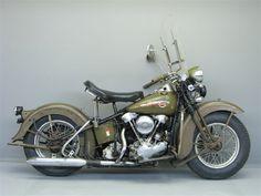 Knucklehead Harley › Awesome Classic Harley Davidson Bike