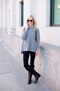 Madewell Cable Knit Sweater-2