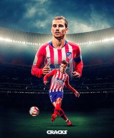 #jruizmandesigns Los 10 primeros diseños para los wallpapers exclusivos que ofrece @cracks_youtube @antogriezmann  @cristiano  @leomessi… Best Football Players, Football And Basketball, Soccer Art, Basketball Players, Antoine Griezmann, Barcelona E Real Madrid, France Football, Soccer Photography, Soccer Poster
