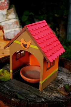 jewel case birdhouse