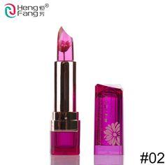 Flower Lipstick Temperature-changed Lip Balm