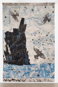 Harbour, (Ocean-rocks-birds) by Kiki Smith at Timothy Taylor | Ocula