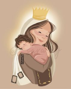 Religious Images, Disney Characters, Fictional Characters, Disney Princess, Anime, Instagram, Art, Knights, Mother Mary
