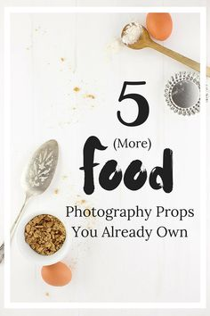 5 fantastic food photography props to make your photos really POP that you probably already have lying around your house! From The Simple, Sweet Life