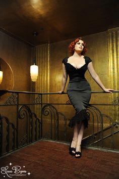 Isabelle Dress in Black