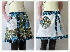 lots of links to apron patterns and tutorials.. free
