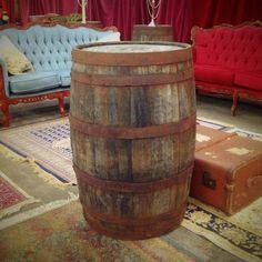 Large traditional cider barrels