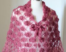 Spring Summer Shawl Oatmeal Knit Shawl Crochet Wedding Wrap Knit