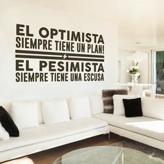 The optimist always has a plan. The pessimist always has an excuse. Work Motivation, Little Bit, Inspirational Quotes, Motivational Quotes, Typography Inspiration, More Than Words, Spanish Quotes, Plans, Words Quotes