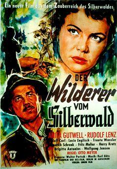 Poster zum Film: Der Wilderer vom Silberwald. 1957