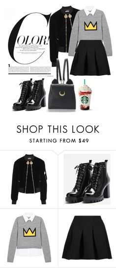 """""""Untitled #43"""" by darklady03 ❤ liked on Polyvore featuring Givenchy, Alice + Olivia, T By Alexander Wang and WithChic"""