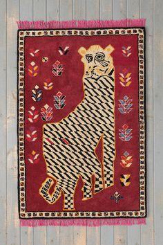 Magical Thinking Crazy Tiger Rug