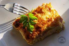 nostimi-tyropita Greek Recipes, Lasagna, Sweet Home, Food And Drink, Ethnic Recipes, Recipies, Greece, House Beautiful, Greek Food Recipes