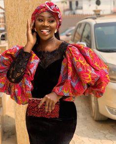 African Print Dress for Women, Puff Sleeves Dress, African Clothing, Ankara Dress, African Clothing African Fashion Ankara, Latest African Fashion Dresses, African Print Dresses, African Print Fashion, Africa Fashion, African Dress, African Prints, Ankara Short Gown, Ankara Gowns