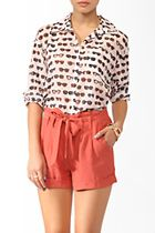 I love shorts like this! Nice and loose, not too short like the mainstream jean short shorts from Hollister or American Eagle