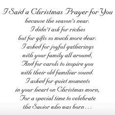 Family Prayer | Said A Christmas Prayer Religious Christmas Card Set of 20 ...                                                                                                                                                                                 More