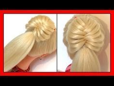 QUICK & CUTE ONE STRAND STYLE HAIRSTYLE / HairGlamour Styles / Braids Hair Tutorial - YouTube