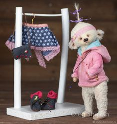 Купить мишка тедди Агата в интернет магазине на Ярмарке Мастеров