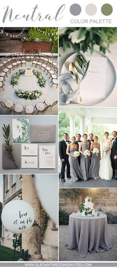 Elegant Grey and White Intimate Garden Wedding Ideas - Neutral Wedding Color Inspiration Wedding Reception Timeline, Wedding Themes, Wedding Events, Wedding Decorations, Wedding Ideas, Wedding Parties, Grey Wedding Theme, Fall Wedding, Wedding White