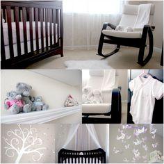 Baby girl's nursery L.O.V.E <3