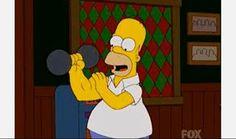 Luchador de pulso profesional en el capítulo 'El envenenamiento del hijo de Marge'