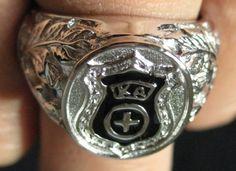Kappa Alpha Order Silver Ring | eBay