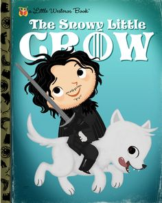 "Joey Spiotto ""The Snowy Little Crow"" Print"