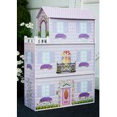 Found it at Wayfair - Fancy Mansion Play House with Furniture  age 3 and up $89.99