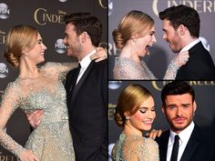 lily james and richard madden - Google Search