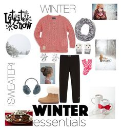 """ toddler: winter essentials "" by seashore77 ❤ liked on Polyvore featuring Ralph Lauren, UGG Australia, Monnalisa, Disney, STELLA McCARTNEY, Yves Salomon, Aéropostale and Saxon"