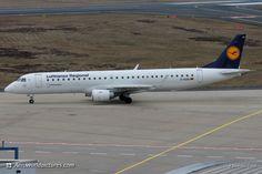 IMG_0609 Lufthansa Regional (Lufthansa CityLine) Embraer ERJ-190-200LR D-AEBG
