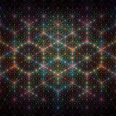 Patrones Geométricos Hipnóticos
